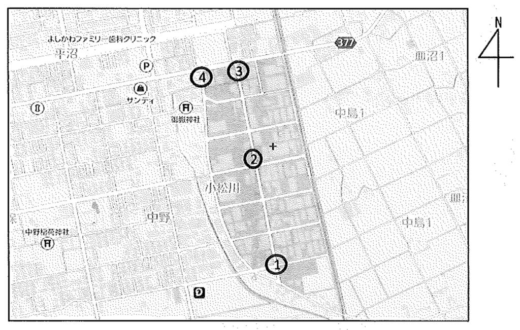 工事箇所地図表示